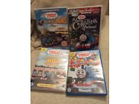 4 Thomas and Friends DVDs
