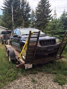 Parting out 01 jeep Cherokee