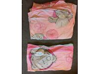 Bundle of 7 single quilt covers and pillow cases