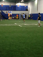 $75 RENT INDOOR SOCCER FIELD PRIME TIME - VAUGHAN MALL LOCATION