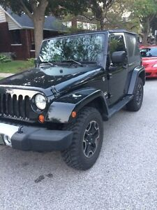 2008 Jeep Wrangler Sahara 2 Door.