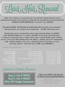 Laser Hair Removal - amazing prices and deals!! Moose Jaw Regina Area image 1
