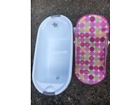 Baby bath and baby seat