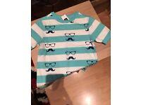Baby gap t shirt and shorts