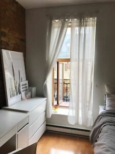 DOWNTOWN MONTREAL 1 BEDROOM SUMMER SUBLET