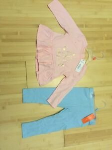 New with tags top and leggings
