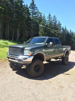 Lifted 2004 F-350 King Ranch