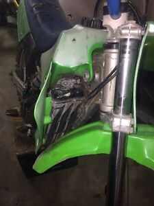 Kawasaki kx 80 $1000 or trade for a smaller bike of same value Kingston Kingston Area image 4
