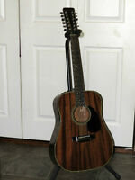 Takamine EF-389 Acoustic/Electric 12-string guitar - REDUCED
