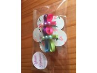Beautiful handmade girls hairclips
