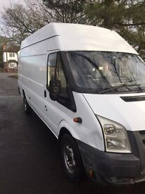 Ford transit T350 110bhp jumbo van moted ready to go