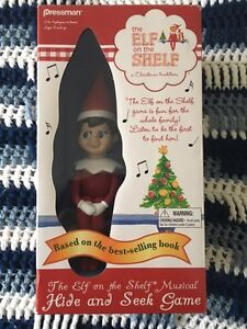 Elf on the shelf game: NEVER OPENED
