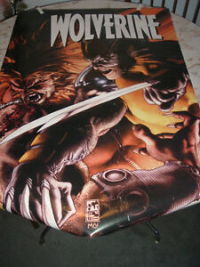 "Poster Wolverine fighter 23"" by 35"" West Island Greater Montréal image 1"