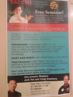 Free Tai Chi Workshop and Paid Workshop