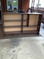 Wooden book shelving - FREE