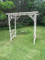 Wedding archway for rent or sale