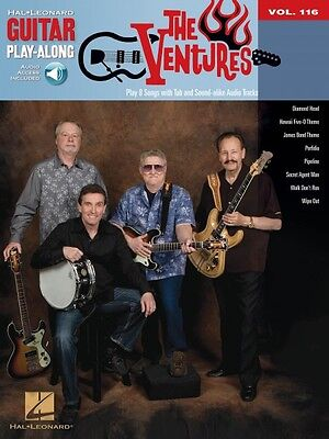 The Ventures Sheet Music Guitar Play-Along Book and Audio NEW 000701124