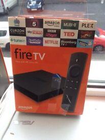 Firetv boxes and firesticks