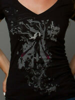 """""""I Fight Like a Girl"""" gamer v-neck t-shirt - New without tags"""