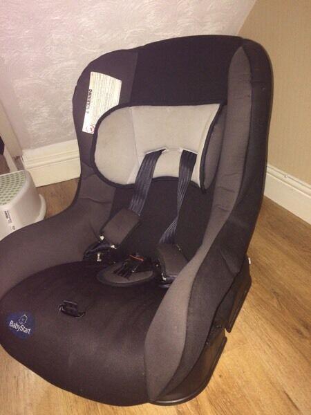 reclining car seat in erdington west midlands gumtree. Black Bedroom Furniture Sets. Home Design Ideas