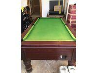 Supreme slate pool pub table