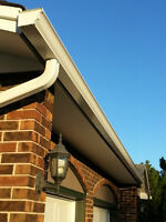 "Exterior Reno's! 5"" Seamless Gutters! Soffit & Fascia!"