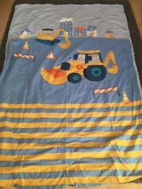 Children' s Digger bedroom set from next.