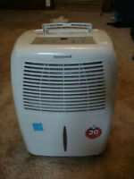 Honeywell dehumidifier- free delivery