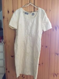 Large silk dress