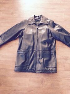 Ladies leather jacket for sale.
