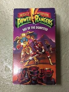 Power Rangers: Day of the Dumpster VHS