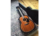 Farida R15-E Acoustic Guitar w/hard case
