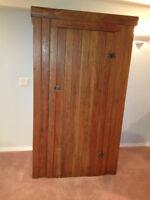 1800s Cedar Wardrobe