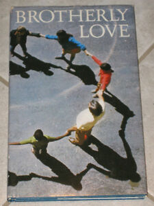 LITTLE BOOK from the '70's..BROTHERLY LOVE ...[HALLMARK EDITION]