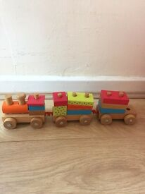 Wooden trains