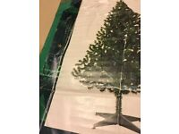 6ft Artificial boxed Christmas tree with decorations