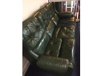 leather sofa 4 piece