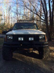 96 cherokee mud truck