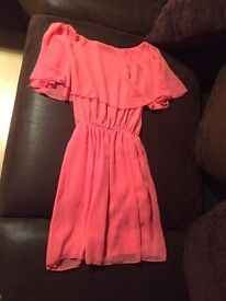 Coral dress miso size 8