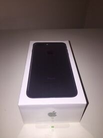 Apple iPhone 7 Plus, 128GB, Matt Black, Brand New and unsealed