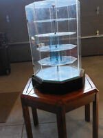 Revolving Acrylic Display Case