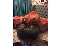 5 bin liners baby boys clothes