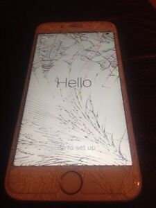 iPhone 6  16gb Rogers Cracked Glass