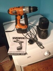 Worx cordless drill and jigsaw