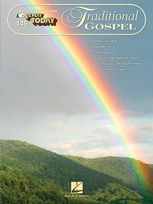 Traditional Gospel Sheet Music E-Z Play Today Book NEW 000100291