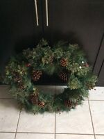 Pretty Christmas wreath