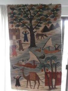 Antique Egyptian Folk-art tapestry