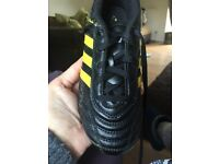Boys football boots size 12