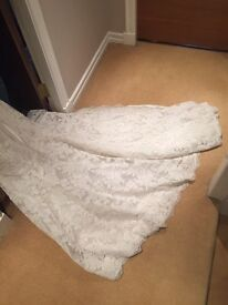 Ladies bridal gown