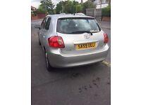 2009 '59' Toyota Auris 1.4 D4D TR Diesel 85K £30yr tax